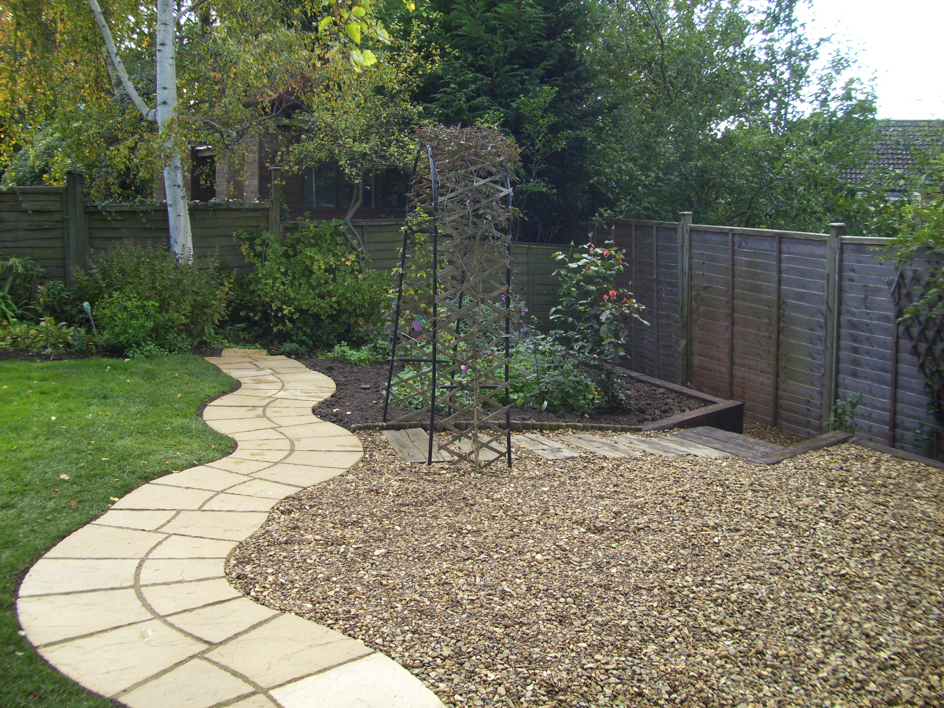 Landscapers landscaping cambridge ely newmarket huntingdon for Gravel garden designs