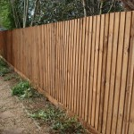 Close board fencing in Huntingdon