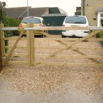 Driveway gates supplied and installed