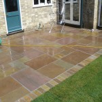 New Patio in Natural Stone