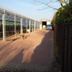 Block paving all 660sqm down and finished