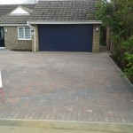 New block paved driveway in Histon